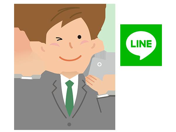 物件市場のIT重説:スマートフォンとLINEアプリがあればOK