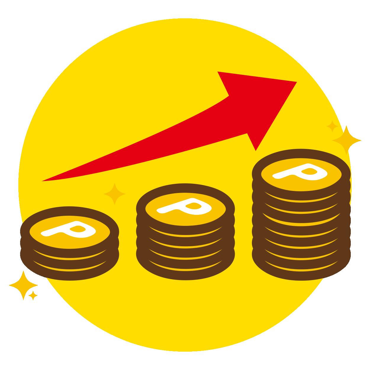 物件市場ポイントサービス:毎日18ポイント増える!