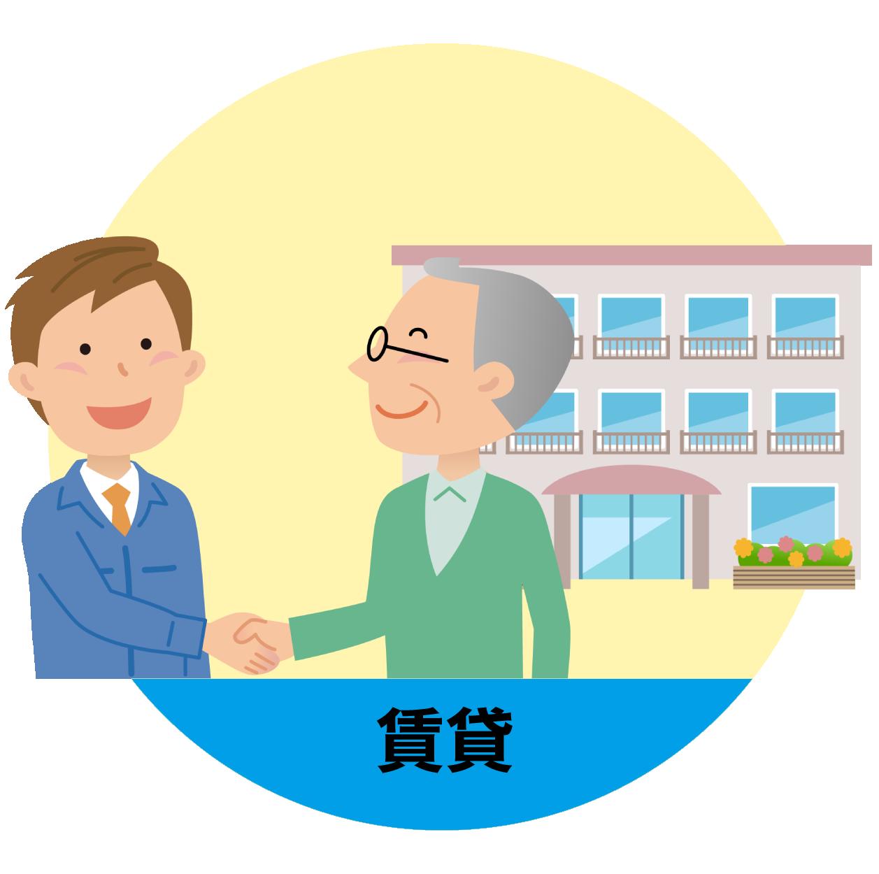 物件市場ポイントサービス:入学や転勤のため、アパートを借りる